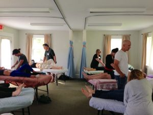 Supervised Massage Sessions at Clinical / Medical Massage Therapy School in Charlotte, North Carolina