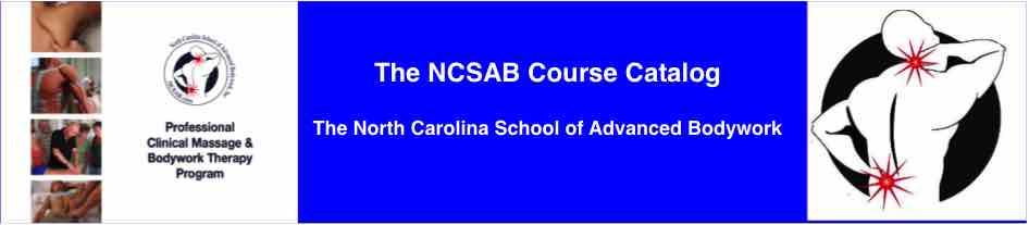 Ncsab massage therapy course catalog